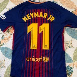 Nike Authentic NEYMAR FC BARCELONA soccer jersey